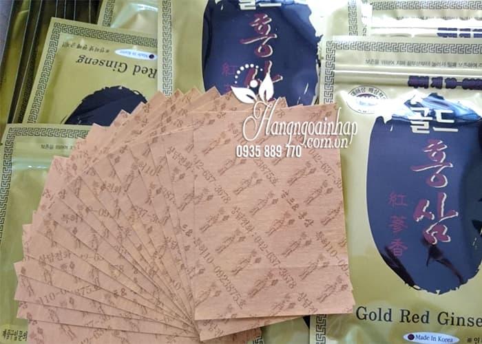 Cao dán hồng sâm Hàn Quốc Gold Red Ginseng giảm đau nhức 0