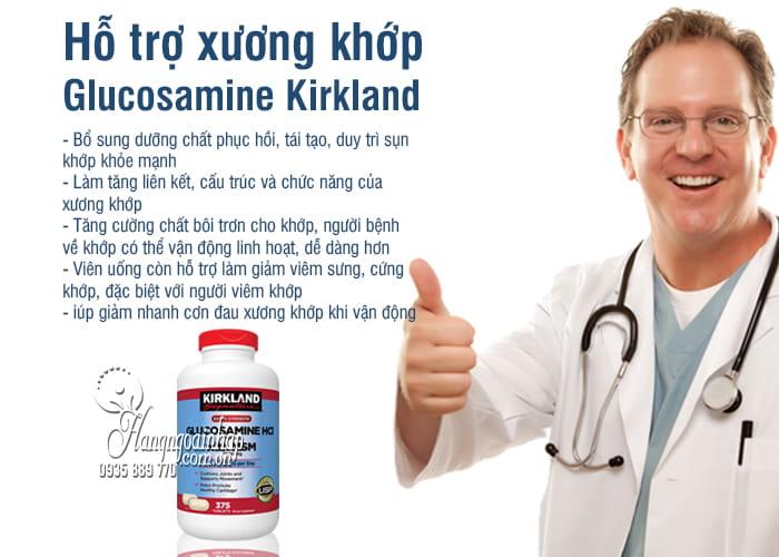 Glucosamine 375 Viên HCL 1500mg Kirkland Của Mỹ mẫu mới 2