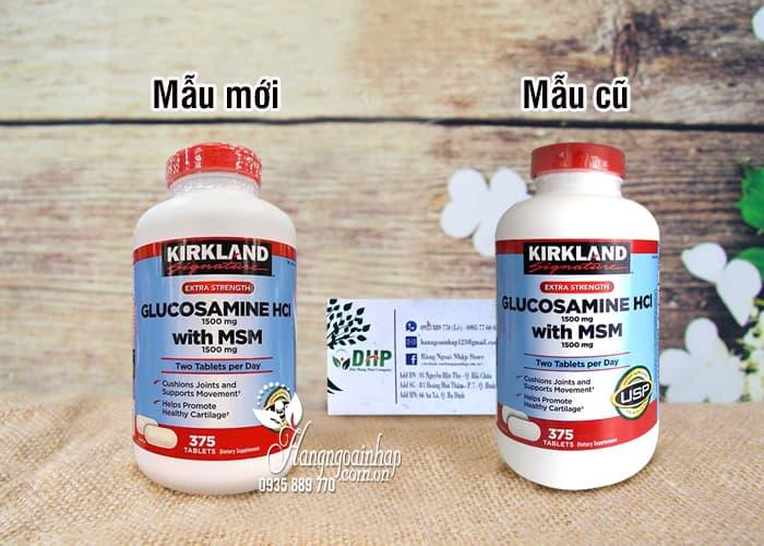 Glucosamine 375 Viên HCL 1500mg Kirkland Của Mỹ mẫu mới 1
