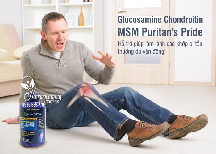 Glucosamine Chondroitin MSM Puritan's Pride 240 Viên 5