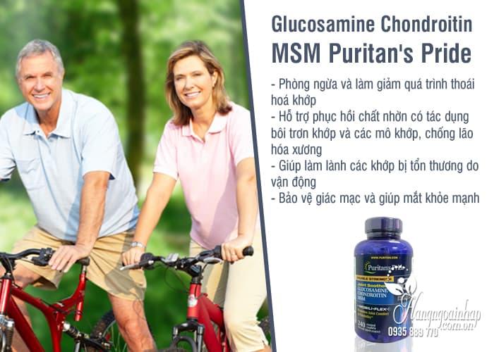 Glucosamine Chondroitin MSM Puritan's Pride 240 Viên 1