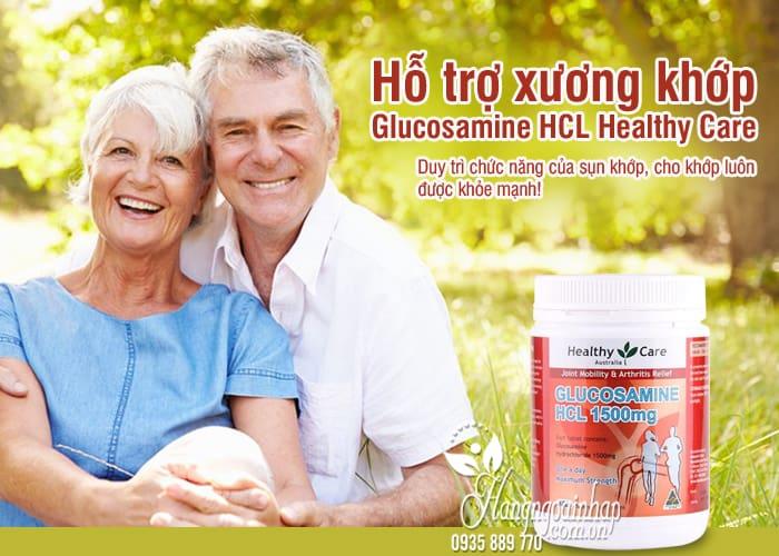 Glucosamine HCL 1500mg Healthy Care 400 viên của Úc 1