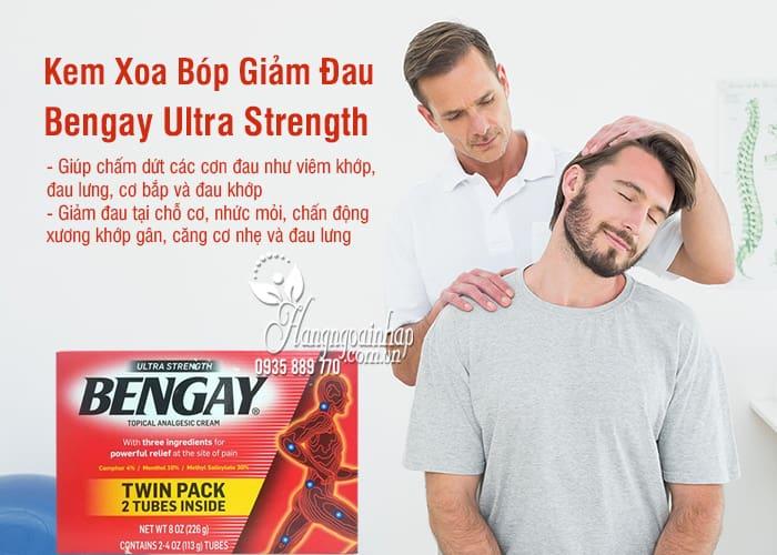 Kem Xoa Bóp Giảm Đau Bengay Ultra Strength 113g Của Mỹ 9