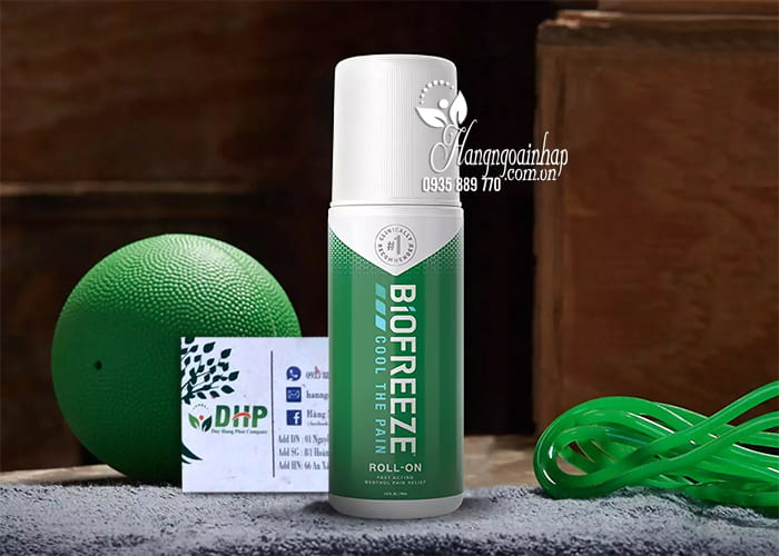 Lăn lạnh xoa bóp giảm đau nhức Biofreeze Cool The Pain 74ml 9