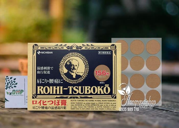 Miếng dán giảm đau Roihi Tsuboko, miếng dán huyệt đạo của Nhật 9