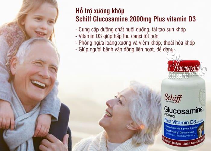 Schiff Glucosamine 2000mg Plus vitamin D3 150 Viên Của Mỹ 1