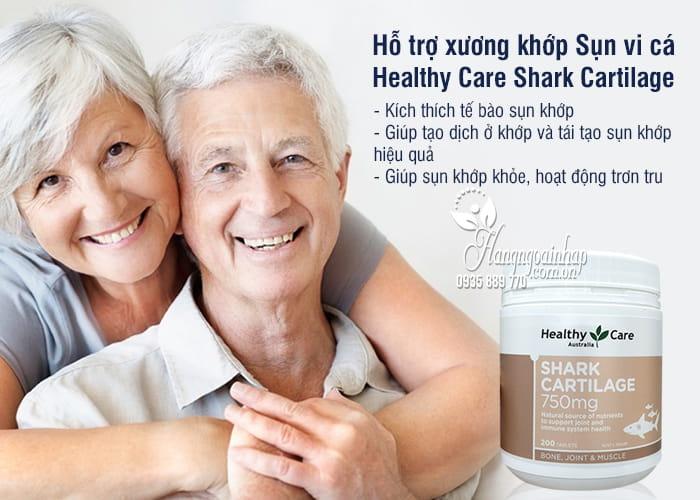 Sụn vi cá Shark Cartilage 750mg 200 viên của ÚC, giá tốt