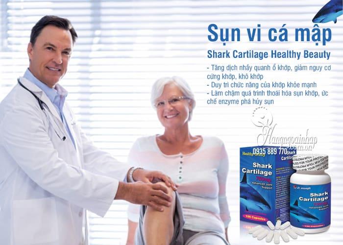Sụn vi cá mập Shark Cartilage 750mg Healthy Beauty 100 viên 3