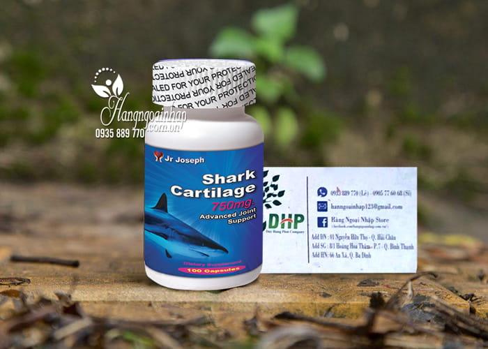 Sụn vi cá mập Shark Cartilage 750mg Healthy Beauty 100 viên 9