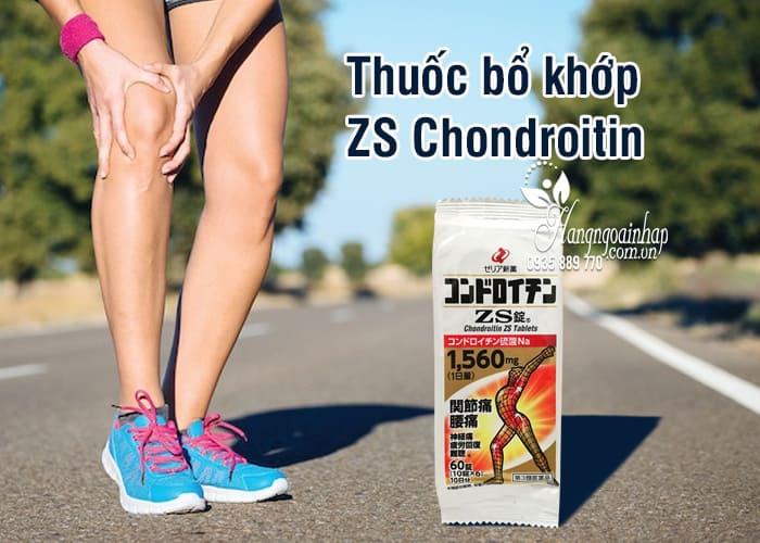 Thuốc bổ khớp ZS Chondroitin 1560mg gói 60 viên Nhật Bản 5