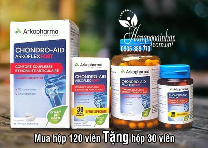 Thuốc bổ xương khớp Arkopharma Chondro-Aid 120 viên tặng 30 viên 8