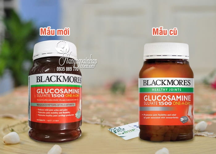 Thuốc Bổ Xương Khớp Blackmores Glucosamine 1500mg Của Úc 9