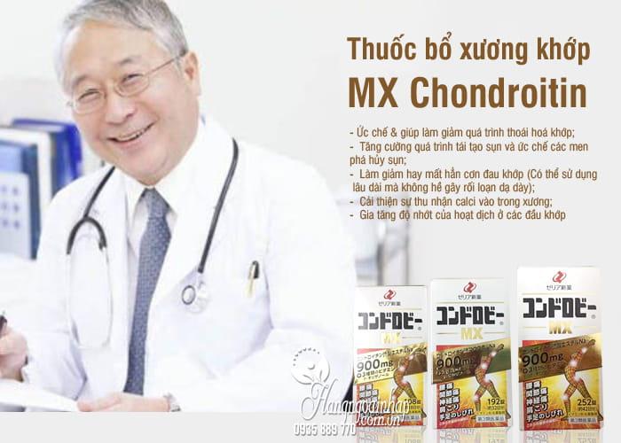 Thuốc bổ xương khớp MX Chondroitin thế hệ mới của Nhật Bản 108 viên 8