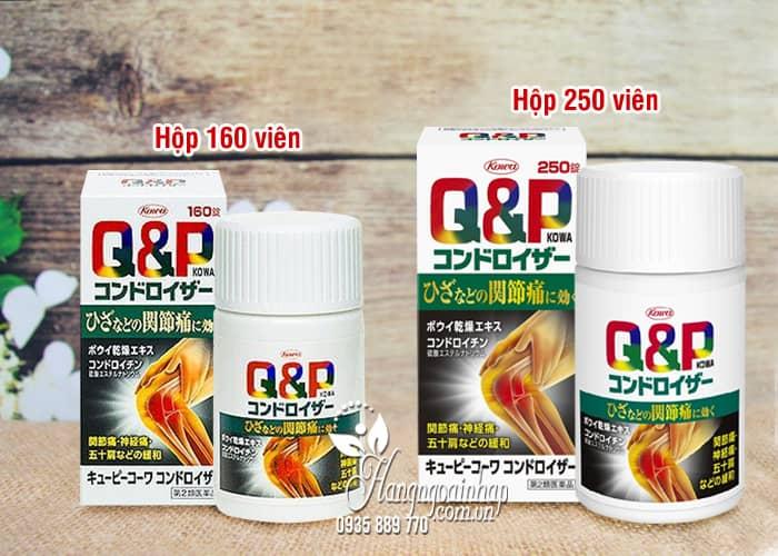 Thuốc bổ xương khớp QP Kowa của Nhật Bản hộp 160, 250 viên 1