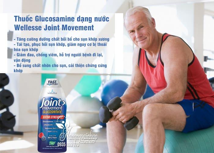 Thuốc Glucosamine dạng nước Wellesse Joint Movement 1000ml của Mỹ 1