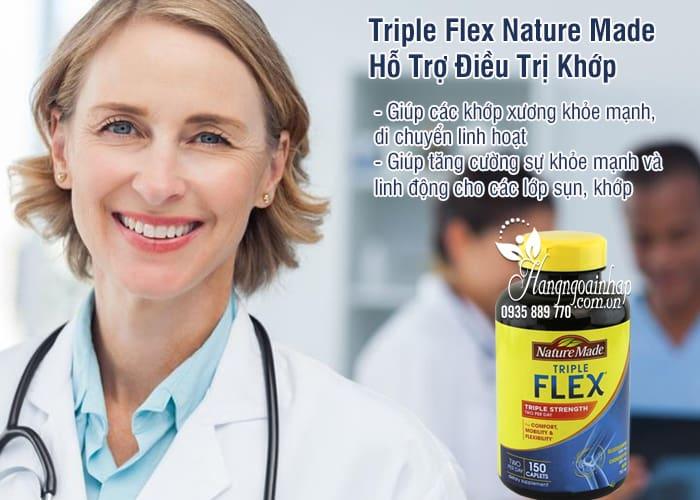 Triple Flex Nature Made Của Mỹ Hộp 150 Viên - Hỗ Trợ Điều Trị Khớp 3