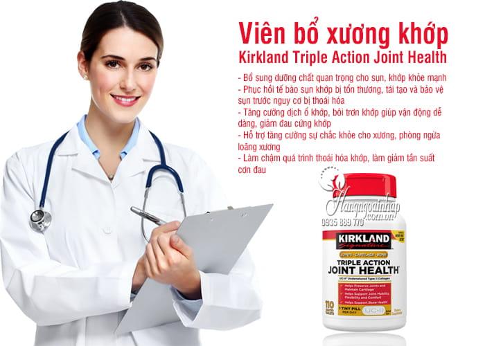 Viên bổ xương khớp Kirkland Triple Action Joint Health 110v 3