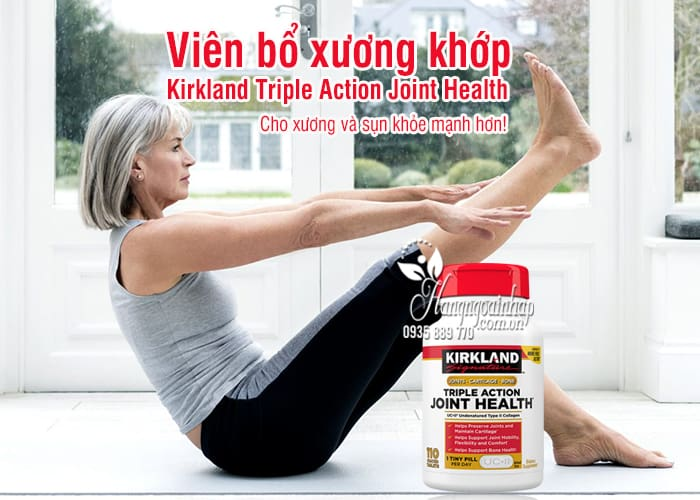 Viên bổ xương khớp Kirkland Triple Action Joint Health 110v 1