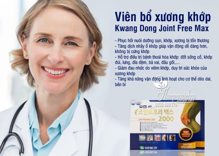Viên bổ xương khớp Kwang Dong Joint Free Max 2000 Hàn Quốc 3