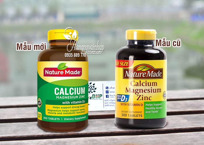 Viên Calcium With Vitamin D Nature Made 300 Viên Của Mỹ 5