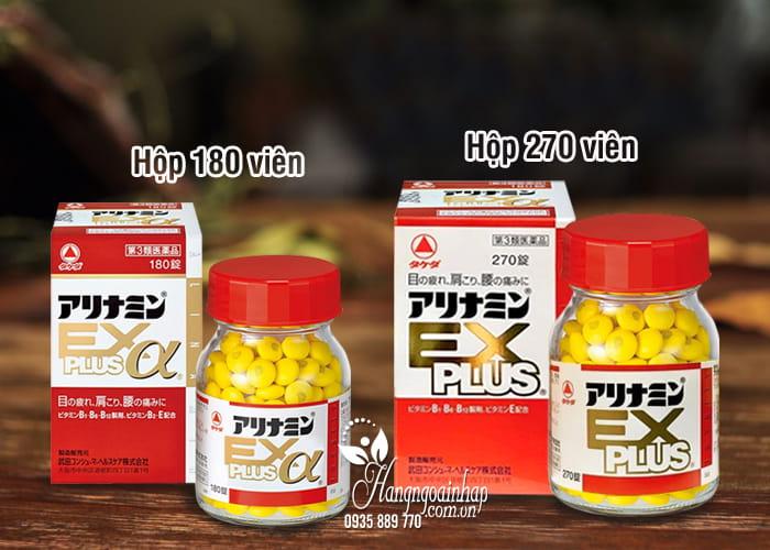 Viên giảm đau vai gáy Arinamin EX Plus 180, 270 viên Nhật Bản 1