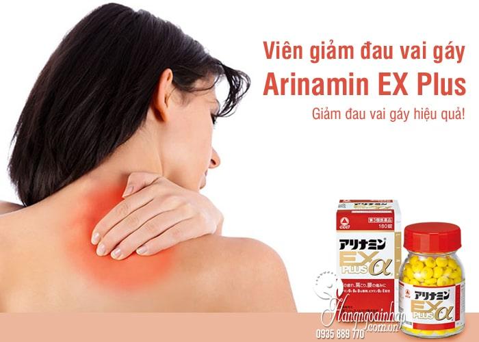 Viên giảm đau vai gáy Arinamin EX Plus 180, 270 viên Nhật Bản 8