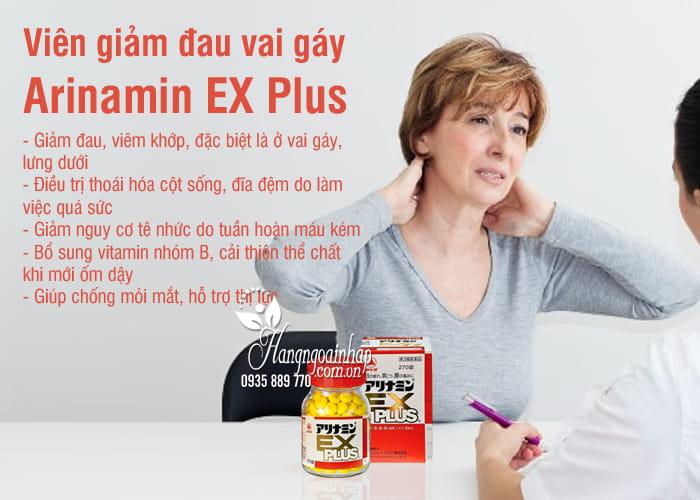 Viên giảm đau vai gáy Arinamin EX Plus 180, 270 viên Nhật Bản 2