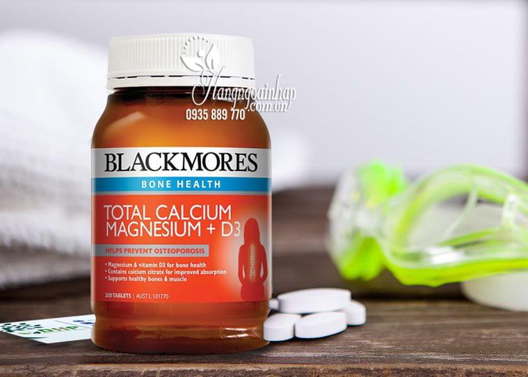 Viên uống Blackmores Total Calcium & Magnesium + D3 Úc 3