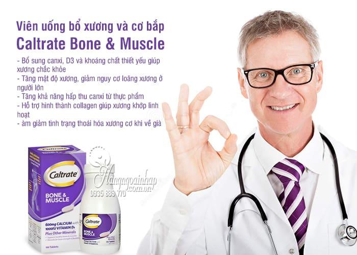 Viên uống bổ xương và cơ bắp Caltrate Bone & Muscle 100 viên 3