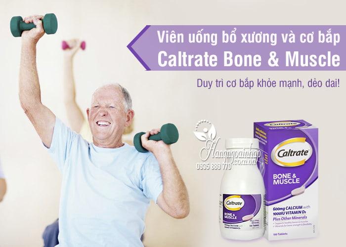 Viên uống bổ xương và cơ bắp Caltrate Bone & Muscle 100 viên 1