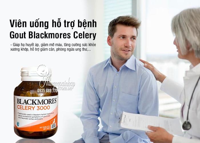 Viên uống hỗ trợ bệnh Gout Blackmores Celery 3000mg Úc 1