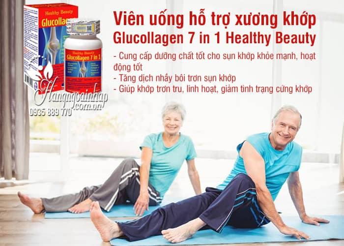 Viên uống hỗ trợ xương khớp Glucollagen 7 in 1 Healthy Beauty 7