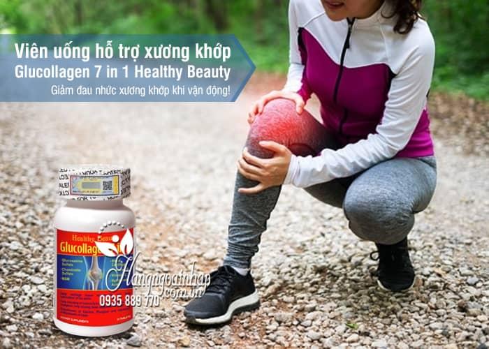 Viên uống hỗ trợ xương khớp Glucollagen 7 in 1 Healthy Beauty 1