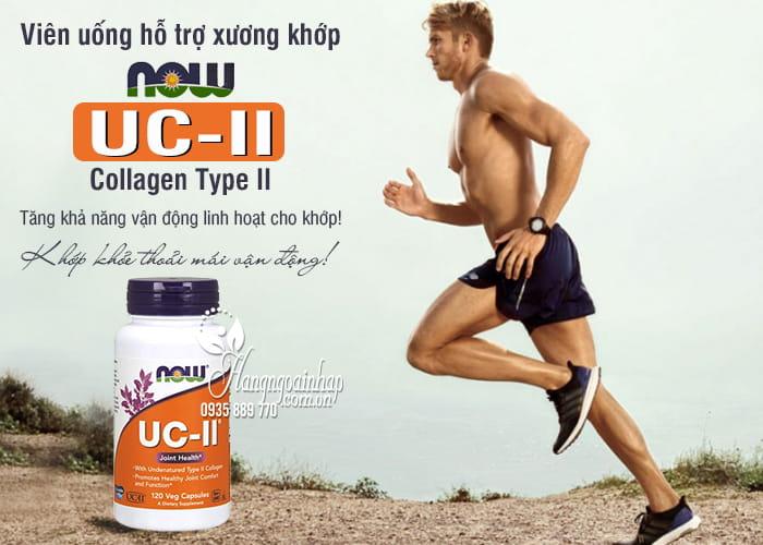 Viên uống hỗ trợ xương khớp Now UC-II Collagen Type II của Mỹ 1