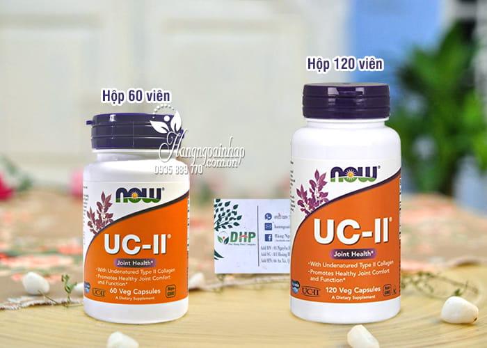 Viên uống hỗ trợ xương khớp Now UC-II Collagen Type II của Mỹ 5