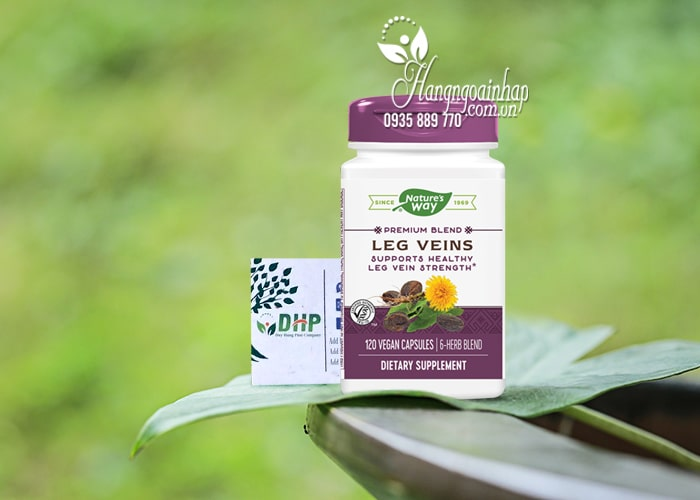 Viên uống Nature's Way Leg Veins giảm suy giãn tĩnh mạch 7