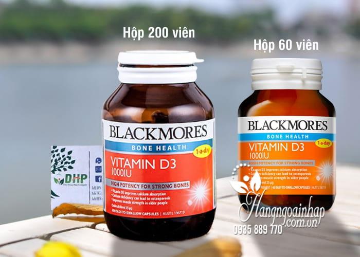Viên Uống Vitamin D3 1000IU Blackmores Của Úc 60, 200 viên 5