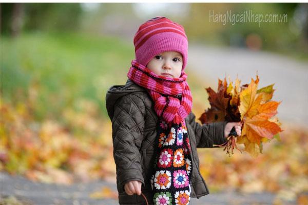 Dạy cho bé cách tự chăm sóc mình khi đông về