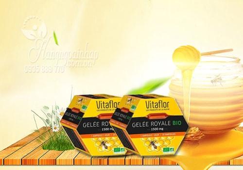 sữa ong chúa vitaflor 1500mg tăng cường hỗ trợ sức khỏe