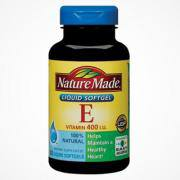 Vitamin E Thiên Nhiên 400 I.U Nature Made Của Mỹ