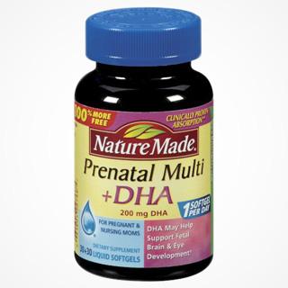 Vitamin DHA Nature Made Mỹ - Bổ Sung DHA Cho Bà Bầu