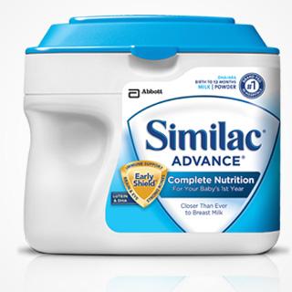 Sữa Bột Similac Advance Dành Cho Bé Từ 0-12 Tháng
