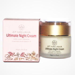 Kem Nhau Thai Cừu Dưỡng Trắng 4 Trong 1 Nirvana Ultimate Night Cream