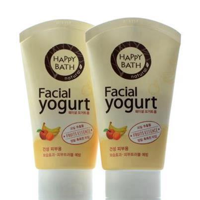 Sữa Rửa Mặt Happy Bath Yagurt Hàn Quốc