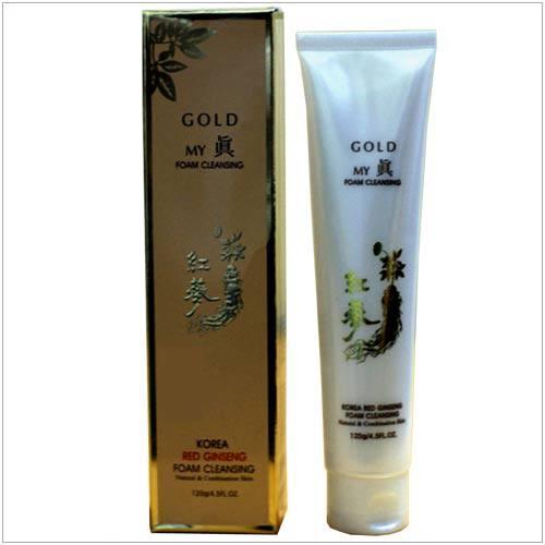 Sữa Rửa Mặt Hồng Sâm Gold Korea Red Gingseng
