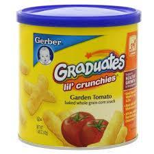 Bánh Ăn Dặm Gerber Pho Mai Của Mỹ