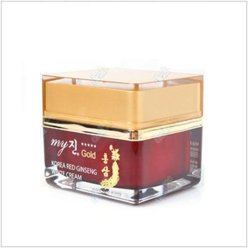 My Gold Korea Red Gingseng White Cream- Kem Trắng, Trị Nám Da Ban Ngày