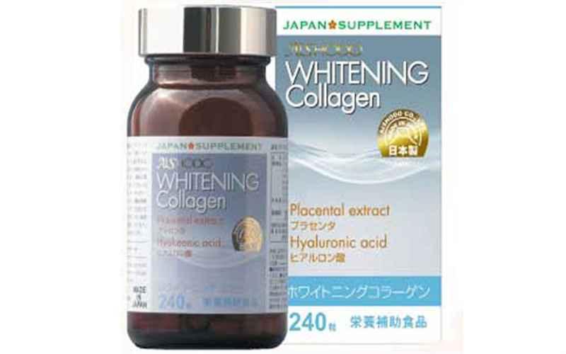 Viên Uống Trị Nám, Trắng Da Whitening Collagen Aishodo