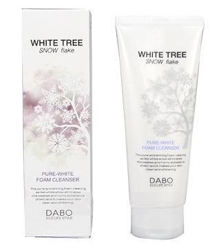 Sữa Rửa Mặt Hạt Massage Dabo White Tree Snow Flake