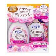 Sữa Tắm Nhật Kao Aroma Time 550ml + Refill 400ml